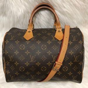 Authentic Louis Vuitton Speedy 30 #5.8F